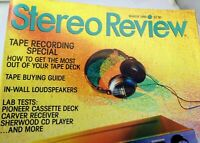 Stereo Review Magazine March 1989 Tape Recording Special Buyers Guide