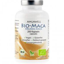 Bio-Maca Kapseln 200Stk. Peru Rohkostqualität DE-ÖK124.6 g (10,23€  / 100 g)