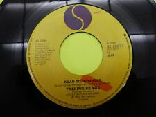 "Talking Heads road to nowhere - 45 Record Vinyl Album 7"""