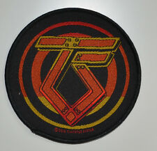 Twisted Sister-Logo-Patch - 9,6 cm - 164182