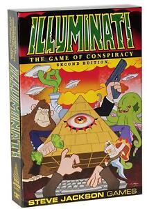 Illuminati 2nd Edition The Game Of Conspiracy Steve Jackson Games SJG 1387 Card