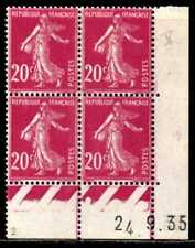 Coin daté Semeuse n° 190b du 24/9/1935 **