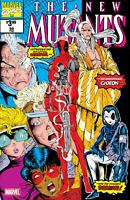 New Mutants #98 Facsimile Edition Comic Book 2019 Marvel 1st Apperance Deadpool