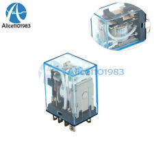 10PCS DC 12V Small Relay Omron LY2NJ DC 10A 8 Pin Coil DPDT