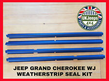 Jeep Grand Cherokee WJ Outer Door Weather Strip Seal Kit 99-04 4.0 4.7 2.7 CRD
