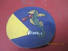 WWII USN VF(N) 42 NIGHT FIGHTER SQUADRON FLIGHT  JACKET  PATCH