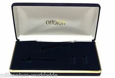 NEW - ORTOFON CONCORDE PHONO CARTRIDGE - BLUE VELVET STORAGE CASE / FLIGHT CASE