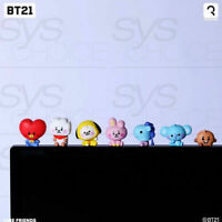 BTS BT21 Official Authentic Goods Monitor Figure Baby Ver 7SET by Royche +Track