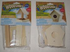 Wooden Birdhouse or Bird Feeder Kit - Build A Real Wood Birdhouse or Bird Feeder