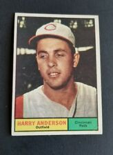 ORIGINAL1961 TOPPS CINCINNATI REDS BASEBALL CARD #76 HARRY ANDERSON V.G.