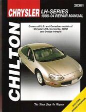 1998-2004 Chrysler LHS Concorde 300M Intrepid Repair Manual 2001 2002 2003 7330