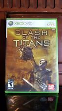 Clash of the Titans: The Video Game (Microsoft Xbox 360, 2010) BRAND NEW SEALED