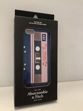 ABERCROMBIE & FITCH NEW YORK IPHONE 5 CASE CASSETTE
