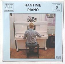 Sealed NO ARTISTS Ragtime Piano LP CONCERT RECORDS CRM126 Mekanisk Musik