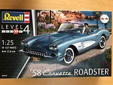 +++ Revell 07037 '58 Corvette Roadster 1:25