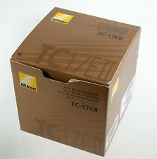Nikon tc-17eii 17e II teleconverter Af-s tele Convertisseur Extender MINT comme neuf
