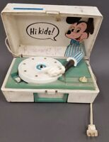 Vintage Mickey mouse  Disney General Electric Record Player Turntable