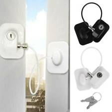 Refrigerator Lock Freezer Door Lock Strong Adhesive Child Safety Device with Key