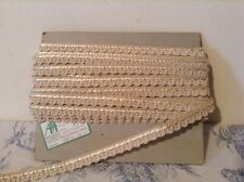 Vintage French Passementerie Braid Trim Trimming ~ 14m - NOS