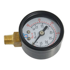 Male Threaded Pneumatic Air Vacuum Pressure Gauge 30/0Hg Z3O3