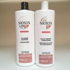 Nioxin System 3 Cleanser & Scalp Therapy Conditioner DUO SET 33.8 oz - NEW!!!