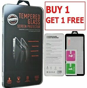 BUY 1 GET 1 FREE Tempered GLASS Screen Protector For HUWAEI Y6 (2019)