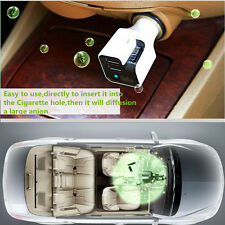 Car Home Fresh Air Ionic Purifier Oxygen Bar Ozone Ionizer 2in1 Dual USB Charger