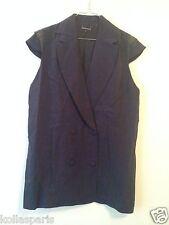 Robe courte EPLE & MELK Lin bleu M 38