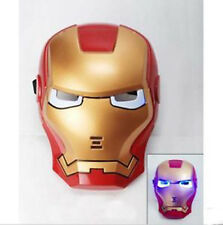 Game Mask Iron Man Mask Cosplay Party Costume BB Gun Toys Fancy Dress Light Up