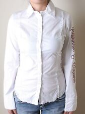 Bejeweled by Susan Fixel Swords & Crown Shirt (XS)White