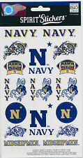 "NAVY MIDSHIPMEN AMERICA'S GAME 19 Stickers peel n stick 2 1/4"" to 1"" New"
