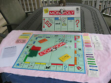 Parker Brothers 1999 Monopoly Winning Token Piece Board Game Used Complete GC