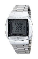 Casio Digital Fashion Watch Data Bank Silver Mens DB-360-1A