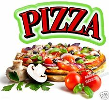 "Pizza Decal 14"" Concession Restaurant Food Truck Sign Vinyl Menu Sticker"