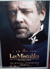 Cinema Poster: LES MISERABLES 2013 (Javert One Sheet) Hugh Jackman Anne Hathaway