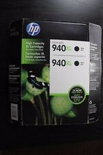 (2 Pack) Brand New Genuine HP Printer Ink Cartridge 940XL Black High Yield