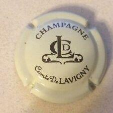Capsule de champagne COMTE DE LAVIGNY (2. crème pâle et noir)