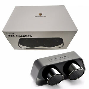 40469016BNIB Porsche Design 911 Speaker Black Premium Bluetooth High-End Speaker
