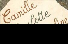CP PAILLETTES PRENOMS CAMILLE PAULETTE JACQUELINE