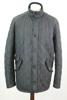 BARBOUR Black Quilted Jacket size L BP