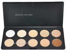 10 Colours Camuflaje & Corrector Rostro Paleta de Maquillaje en Crema Natura
