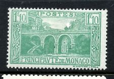 Monaco (5589)  1924  1f10 Green Mounted mint Sg99