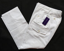 "RALPH LAUREN PURPLE LABEL SAFARI Cargo Pant Gr 34/32 ""WHITE"""