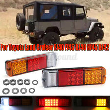 LED Rear Tail Lights Lamps For Toyota Land Cruiser FJ40 FJ45 HJ45 HJ47 BJ40 BJ42