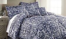 Bamboo 6 Pc Queen Size Comforter Set, Navy- Retail Price $69.99