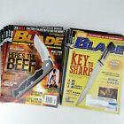 19 BLADE Magazines Knives Knife Publication  2012 - 2018
