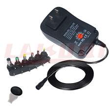 3V 4.5V 5V 6V 7.5V 9V 12V 2A 2.5A 30W AC/DC Power Adapter supply adjustable
