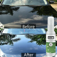 HGKJ-6 Nano Hydrophobic Car Glass Coating Wax Ceramic Polish Paint Care 50ml Top