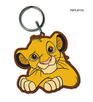 Official Disney THE LION KING Rubber Keychain Keyring Gift 'Simba'