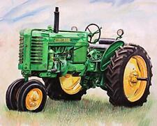 Tractor Full Drill Diy 5D Diamond Painting Kit Round Diamond Embroidery Art C.